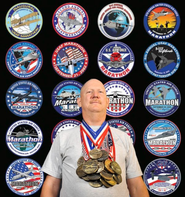 20th USAF Marathon last activeduty Airman to compete in