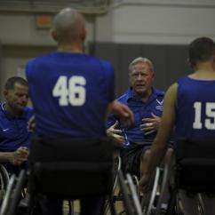 Wheelchair Volleyball Kitten Hurlburt Hosts Af Basketball Sitting Teams