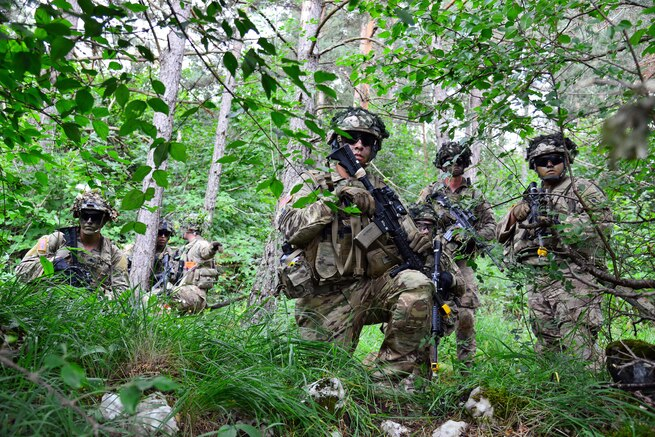Army Paratroopers Hone Skills During Exercise in Slovenia