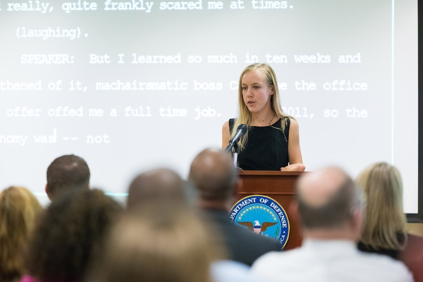 Federal Employees Interns Receive Annual WRP Award  Defense Logistics Agency  News Article View