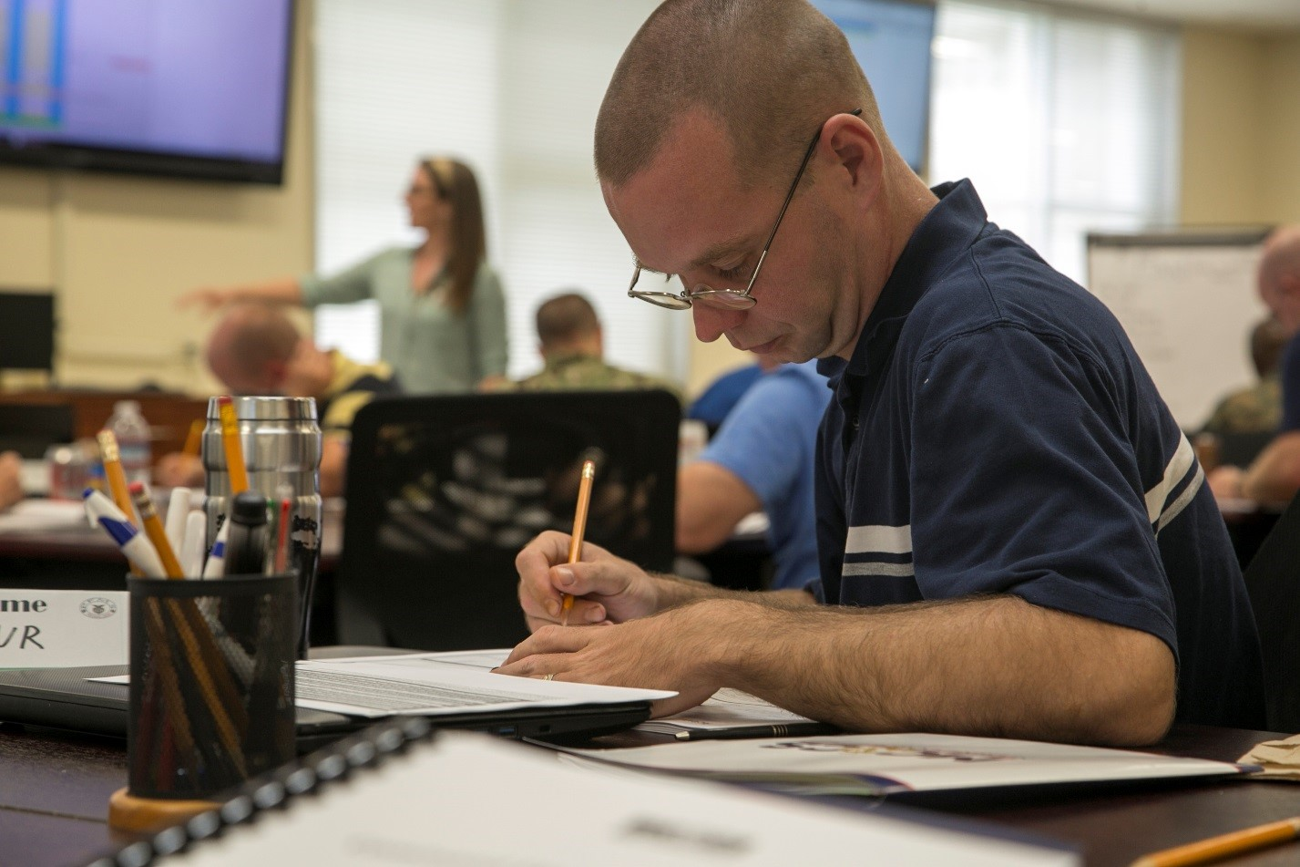 Command Financial Specialists Train To Change The Marine