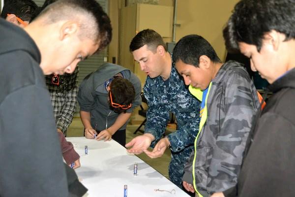 sailors talk stem careers