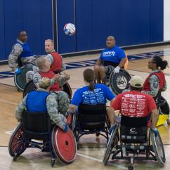 Wheelchair Jobs Racing Simulator Chair Hydraulic Uk Airmen Rugby Players Clash For National