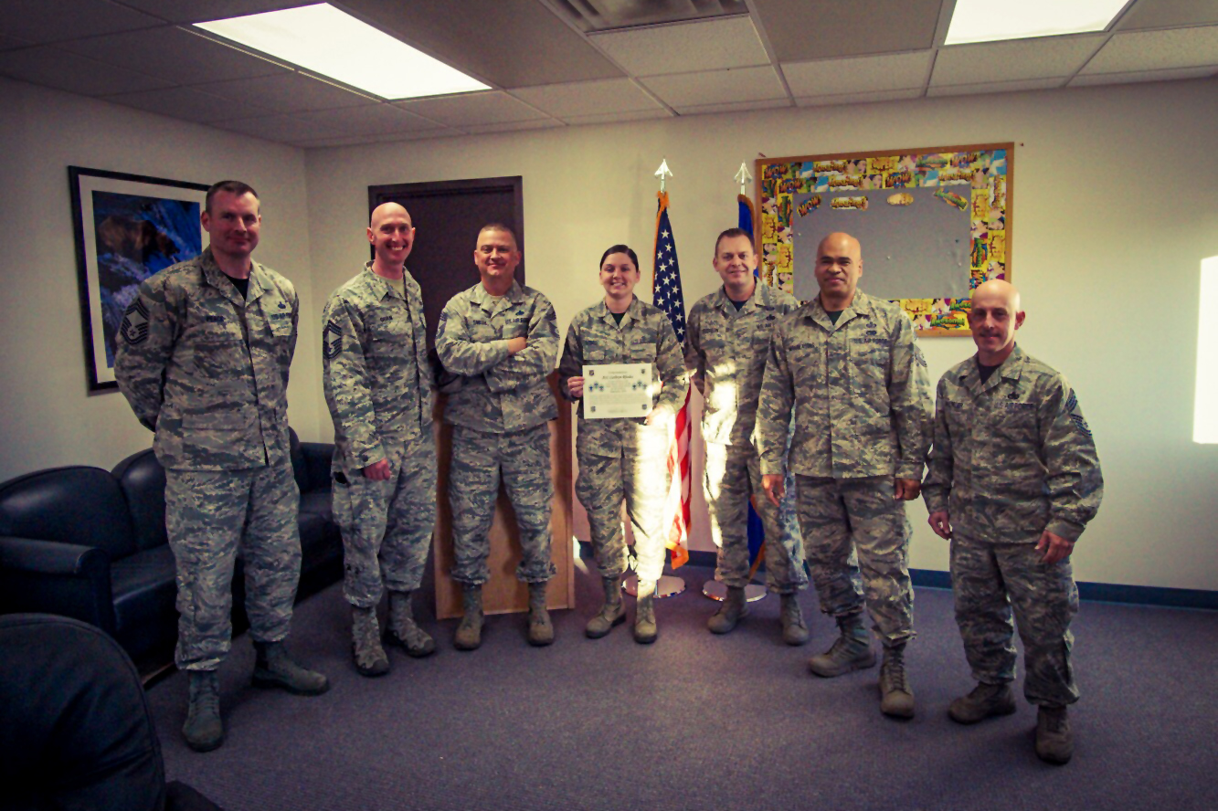 Arctic Warrior Chiefs Group Choice Award Winner Of The Month