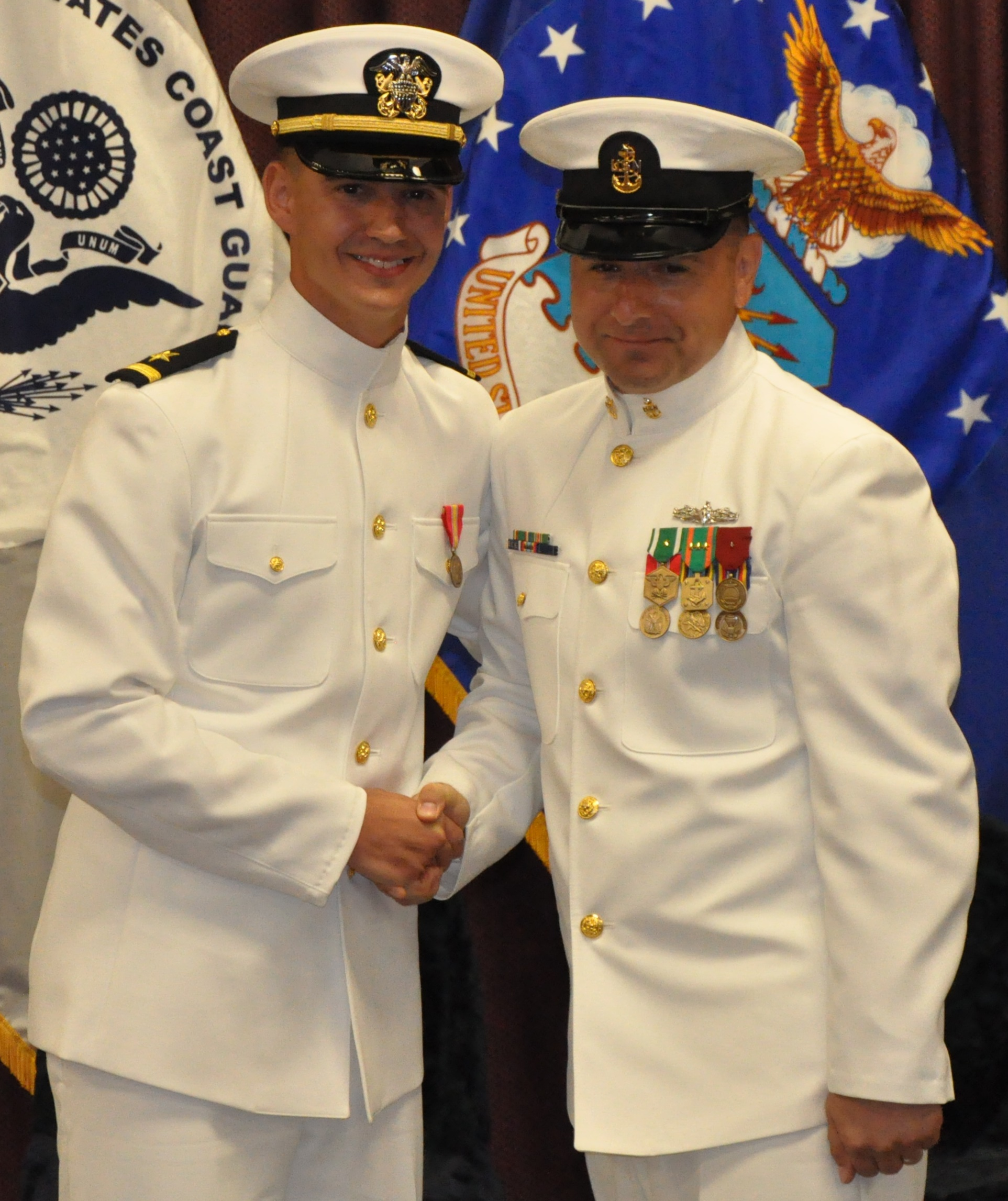 Nswc Civilian Engineer Commissioned Into The Naval Reserve