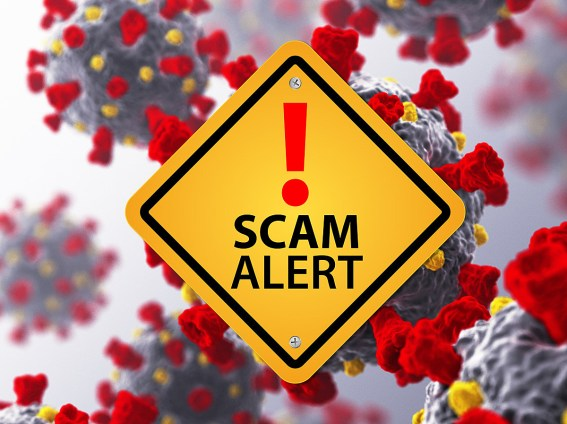 With COVID-19 comes scams – let the buyer beware! > Joint Base San ...