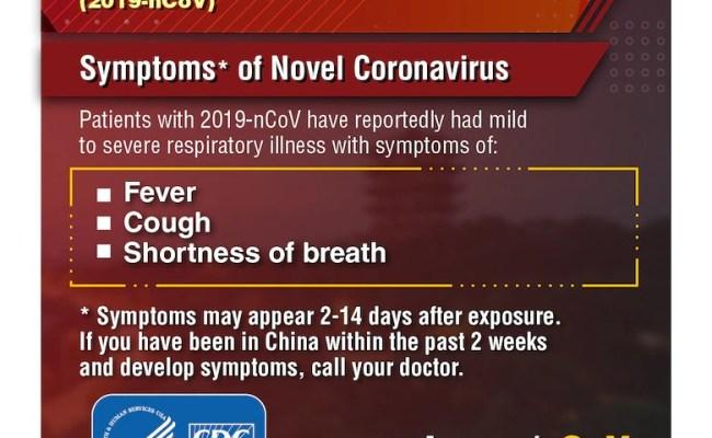 Protect Yourself Novel Coronavirus 2019 Ncov Facts