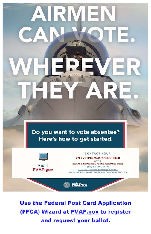 federal voting assistance available to