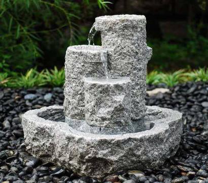 Dehner GranitBrunnen Set 55 x 55 x 55 cm Dehner Garten