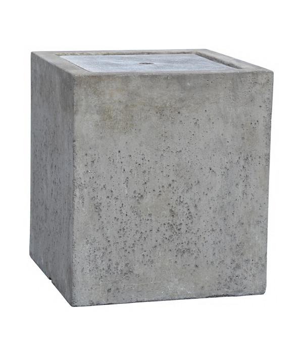 Dehner LeichtbetonGartenbrunnen Cube 40 x 40 x 45 cm