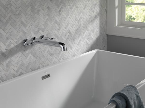 Wall Mounted Tub Filler T5759 WL Delta Faucet