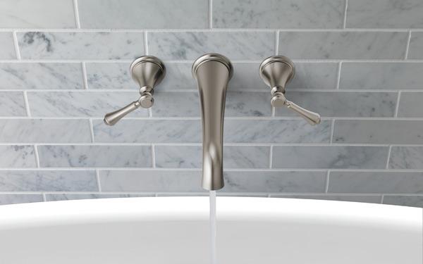 Wall Mounted Tub Filler | Delta Faucet