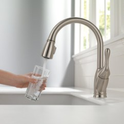 Delta Izak Kitchen Faucet Plans Pull-down 19939-ss-dst |