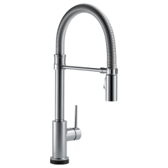 Pull Out Spray Kitchen Faucet Pendant Light Fixtures For Island Single Handle Down Spring Spout With Touch2o Download Image