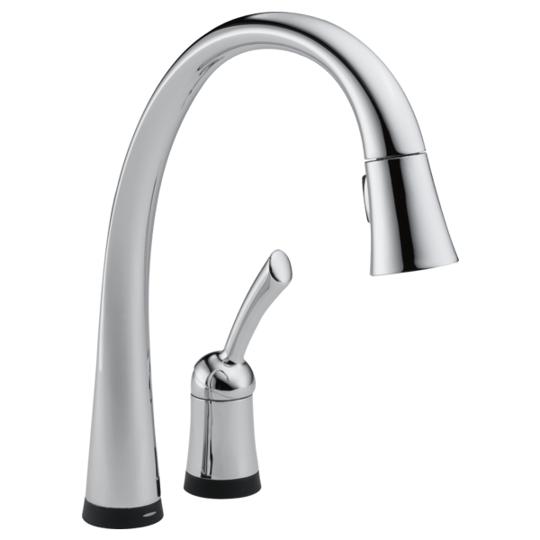 chrome kitchen faucet table sets under 200 single handle pull down with touch2o technology 980t download image