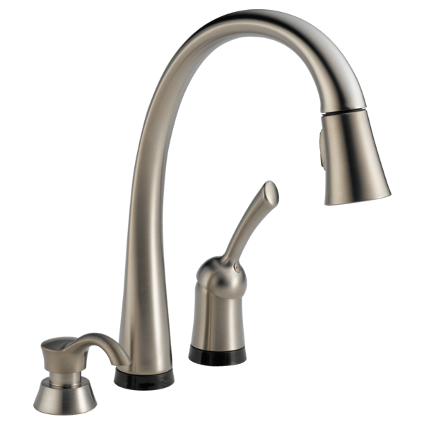 faucet kitchen cart diy single handle pull down with touch2o technology and download image