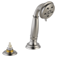 Hand Shower w/ Transfer Valve - Roman Tub RP72767SSLHP ...