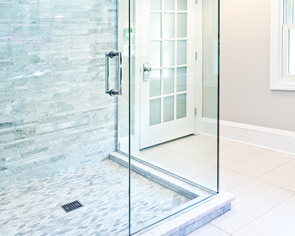 glass shower enclosures walk in