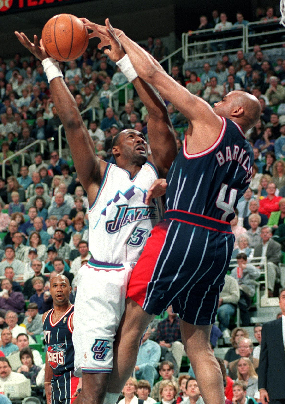 Rock On Karl Malone Is No Competition For Charles Barkley