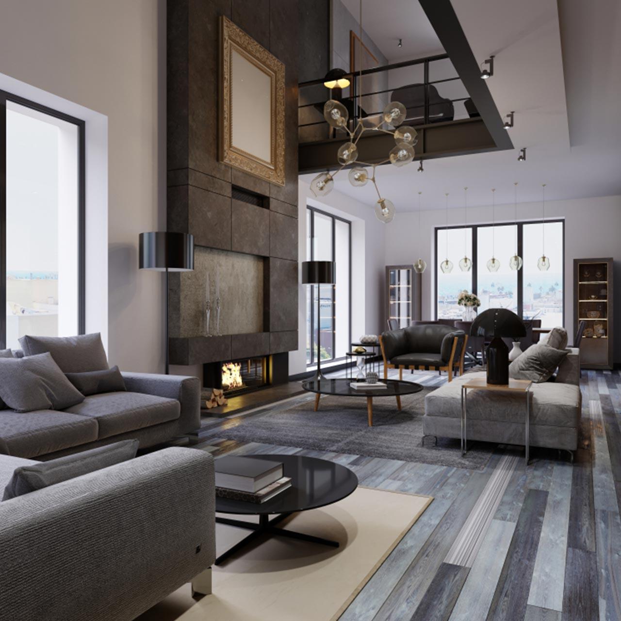 Beautiful Duplex House Interior Design in India   Design Cafe
