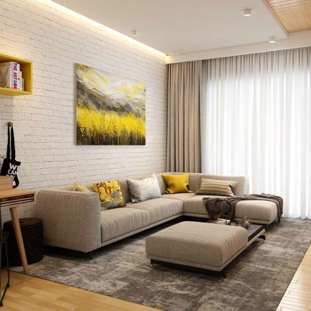 Best False Ceiling Designs For Living Room | Design Cafe