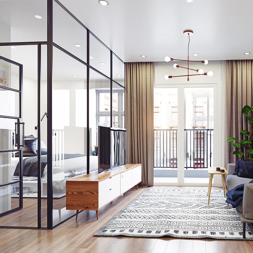 Living Room Partition Design Ideas Design Cafe