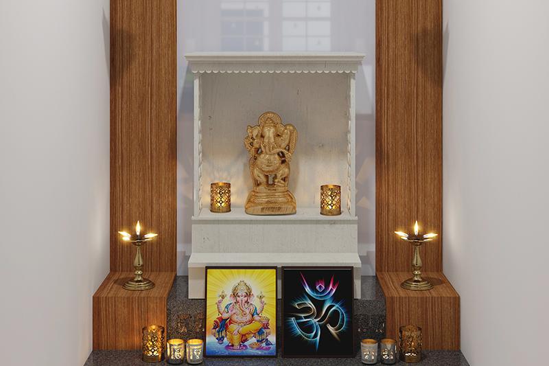 Vastu Tips For Pooja Room Design Cafe