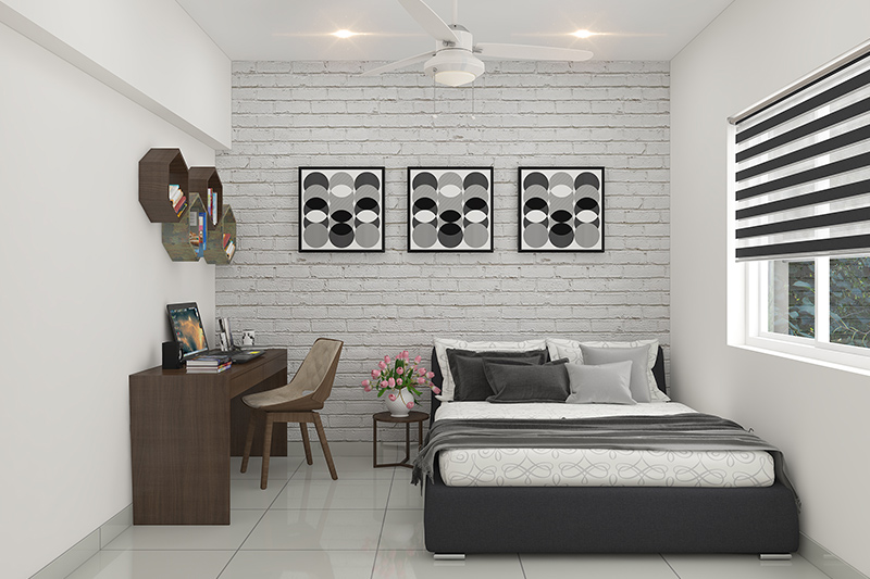 5 Ideas To Style A Study Area In A Bedroom Design Cafe