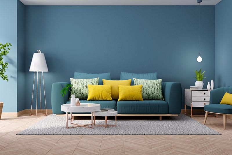 Blue Living Room Design Ideas Design Cafe