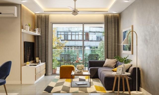 2 BHK House Design | 2BHK Interior Design | Design Cafe