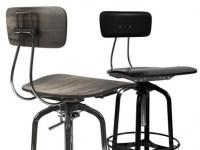 Vintage Toledo Bar Chair 3d model | Restoration Hardware