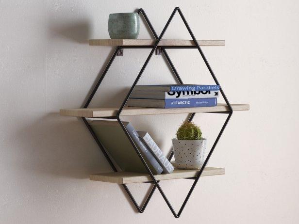 Diamond Cross Planes Shelf 3d model  Urban Outfitters
