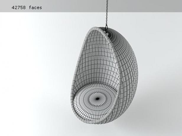 Egg 3d model  Bonacina Pierantonio Italy