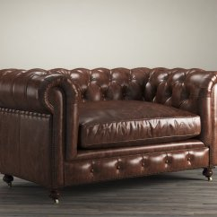 Leather Sectional Sofa Restoration Hardware Sure Fit Furniture Cover With 1 Memory Foam Seat 60 Quot Kensington 3d Model