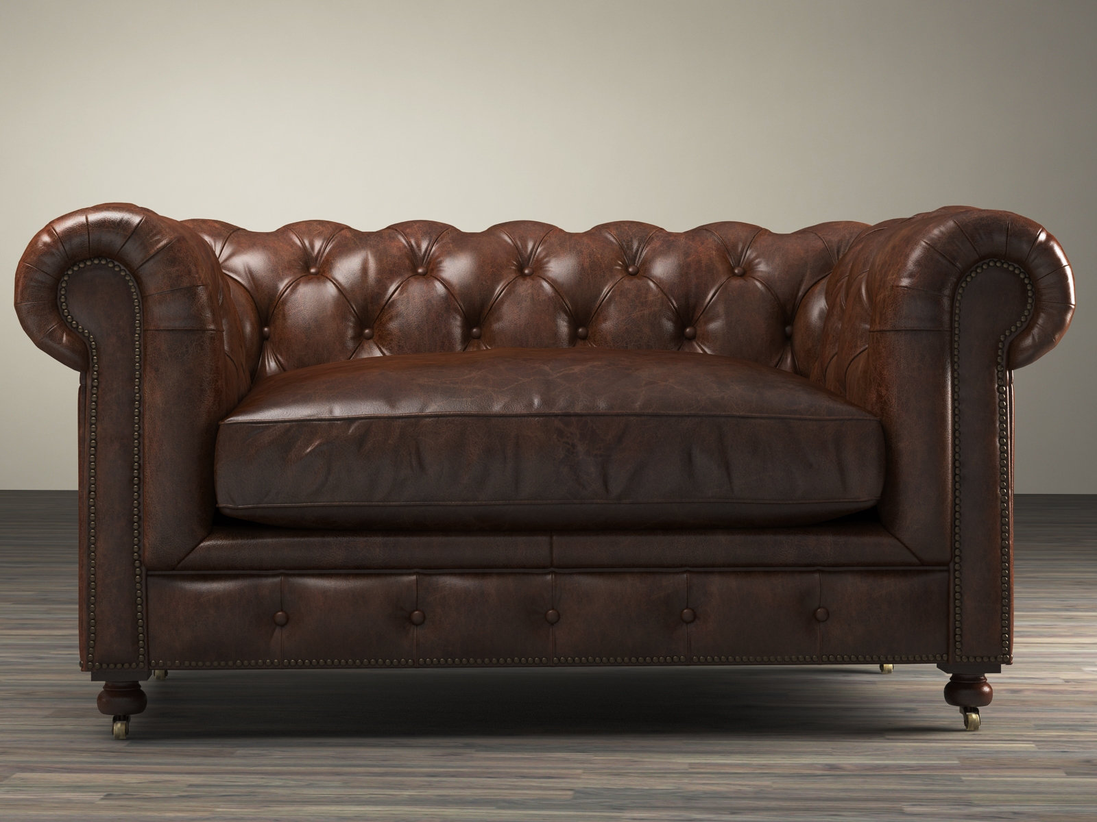 restoration hardware kensington sofa leather pipe set all sofas 2 seater 60 by