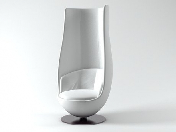 Wanders Tulip Chair 3DModell  Cappellini