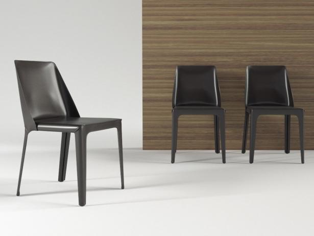 luxury office chair lift recliner isabel 3d model | flexform
