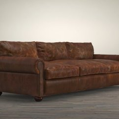 Tindall 96 Leather Sofa Cushion Repair Quot Lancaster 3d Model Restoration Hardware