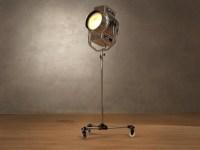 1940s floor lamp 3d model | Restoration Hardware