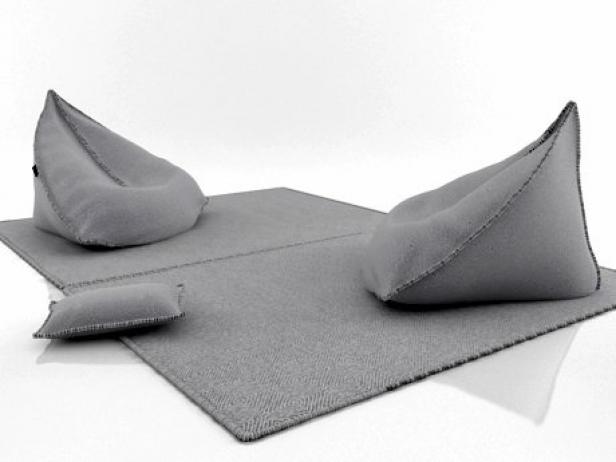 Sail Bean Bag 3DModell  Gandia Blasco