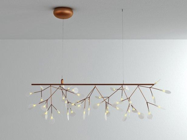 Heracleum Endless Pendant Lamp 3d model  Moooi Netherlands
