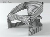 Colombo Chair 3d model | Kartell
