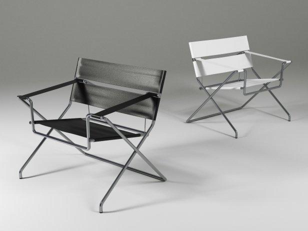 wicker dining chair mesh desk chairs d4 bauhaus 3d model | tecta