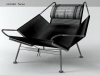 PP225 Flag Halyard Chair Modle 3d | PP Mobler