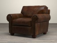 Lancaster Leather Chair 3d model | Restoration Hardware