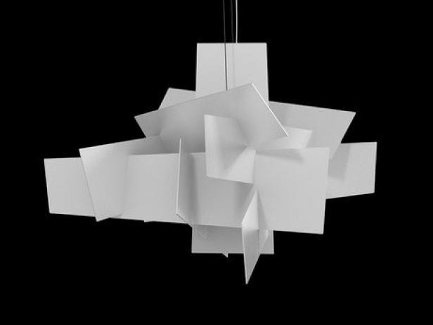 Big Bang 3d model  Foscarini