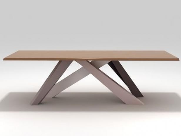 Big Table 3d model  Bonaldo