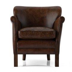 Professor Chair Restoration Hardware Grey Nursery 39s Leather 3d Model