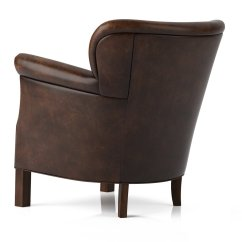 Professor Chair Restoration Hardware Best Office For Spinal Fusion 39s Leather 3d Model