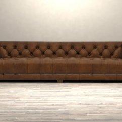 Savoy Leather Sofa Restoration Hardware Bed World Ottawa 3d Model